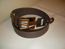 Michael Kors Women's Genuine Leather Belt  Brown Size  XL