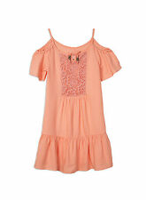Pumpkin Patch Girls Frill Hem Summer Dress - Sale