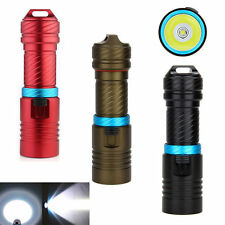 Underwater 100m 3000LM CREE XM-L2 LED Scuba 18650 Diving Flashlight Torch Light