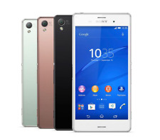 """Sony Xperia Z3 D6603 16GB 4G LTE GSM Unlocked 5.2"""" 20MP Smartphone Cell Phone"""