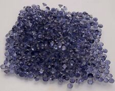 Natural Iolite Round Cut Calibrated Size 1mm- 6mm Blue Color Loose Gemstone