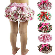 Baby Ruffle Bloomer Pettiskirt Panties Diaper Cover Nappy Summer Bottom Pants