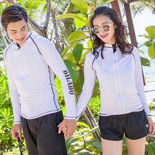 Unisex Men Women New Scuba & Snorkeling Wetsuit Rash Guard Surfing Surf Clothing