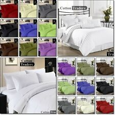 "Hotel Collection "" 1 FLAT SHEET "" 100% Egyptian Cotton 1000-TC All Size & ColorS"