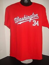 Bryce Harper Washington Nationals Adult Red Jersey T-Shirt - New With Tags!