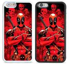 New  Deadpool, marvel hard case cover for iPhone apple models.