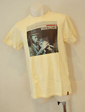 Ben Sherman Mens Printed T Shirt - CREAM - SIZE -   SMALL - NEW