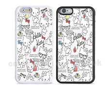 New cute colourful hello kitty  case cover for iPhone apple models,kitten cats