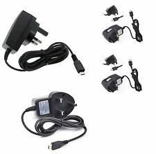 Micro USB Mains Charger Wall Plus Wired Adapter for Various Mobile Phone
