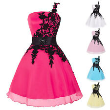 Pink Short Formal Homecoming Grad Dresses Evening Gown Party Cocktail Prom Dress