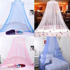 Elegant Lace Bed Mesh Canopy Mosquito Netting Princess Round Dome Bedding Net