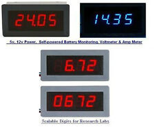 *FCB *USA Digital Panel Meter,All kinds AC, DC 5v,12v Voltmeter Thermometers
