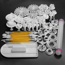 Kitchen Tools Sugarcraft Cake Decorating Fondant Icing Plunger Cutters Mold - SS