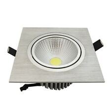 Square 5W 10W 15W COB LED Energy Saving lamp Ceiling Recessed Down Light COB-S1