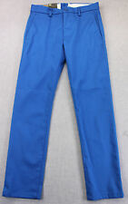 LEVIS 511 Mens ROYAL BLUE SLIM FIT CHINO PANTS NWT 30 31 32 34  x 30 32   $58