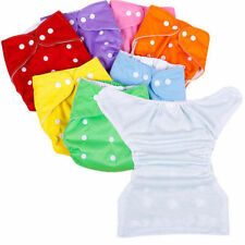 New 1 PCS Adjustable Reusable Lot Baby Washable Cloth Diaper Nappies
