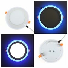 6/9/16/25W 3 Modes Recessed Ceiling Panel LED Light Bulb Lamp Warm Cool White