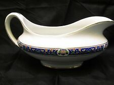 Vintage Gravy Boat - John Maddox & Sons - Royal Vitreous (Blue)  Made in England