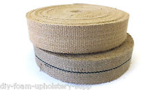 Jute Burlap Hessian webbing 10lb or 12lb quality Upholstery supplies