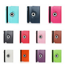 "360 Rotating Stand Smart Leather Case Cover for Apple iPad 9.7"" iPad 2 3 4 CIK"