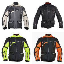 Oxford Montreal Mens Mid-length Moto Motorcycle Textile Jacket   All Colours