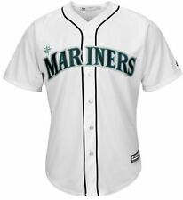 Seattle Mariners Majestic Mens Cool Base Replica Jersey White Big & Tall Sizes