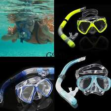 Dry Snorkel Set Scuba Gear Diving Equipment Snorkeling Dive Mask New Beach Adult