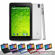 "9"" Inch White Android 4.4 KITKAT Quad CORE TABLET PC Dual Camera HDMI WIFI 8GB"