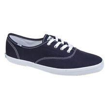 Keds - Womens Navy Blue Champion Trainers - Casual Footwear - Canvas Shoes