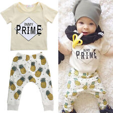 2pc Newborn Boys Outfit Set Milk Baby Boy Gifts Outwear Playsuit For 0-24Months