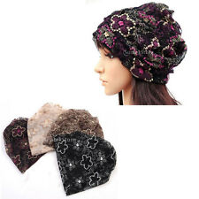 Stylish Womens Ladies Flower Beanie Turban Head Wrap Band Hat Cap Chemo Bandana