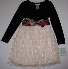 New with tags Adorable Dress by Bonnie Jean Size 7 w/Accent Flower