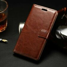 Vintage Card Wallet Magnetic Stand Flip Leather Case Cover For LG Smart Phone
