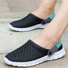 Fashion Mens Breathable Mesh Casual Walking Sandals Summer Beach Slippers Shoes