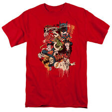 Justice League Dripping Characters T-Shirt DC Comics Sizes S-3X NEW