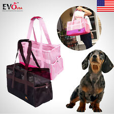 Pet Dog Travel Airline Carrier Cat Puppy Soft Sided Comfort Crate House Tote Bag