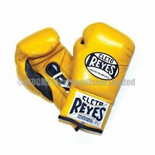 Cleto Reyes Safetec Contest Boxing Gloves - Yellow