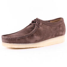 Clarks Originals Wallabee Mens Suede Dark Brown Casual Shoes New Shoes All Sizes