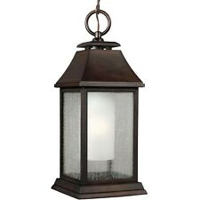 Feiss OL10611HTCP Shepherd 1 Light Outdoor Pendant Fixture Heritage Copper