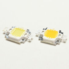 10 PCS New 10W Cool/Warm White High Power 30Mil SMD Led Chip Flood Light Bead  A