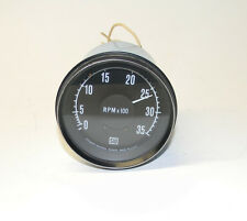 Stewart Warner Diesel Heavy-Duty Series Tachometer 82641 Excellent Condition