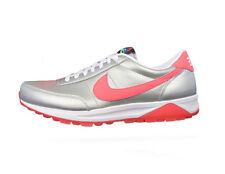 Nike Oldham Trainer Mens Leather Sneakers / Shoes - Silver 060