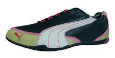Puma Alsten Lux Womens Leather Sneakers / Shoes - Black - 9301