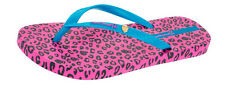 Ipanema Leopard Womens Flip Flops / Sandals - Blue Pink - 81695