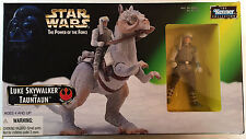 Kenner Star Wars Power Of The Force Beast Luke Skywalker And Taun Taun Action...