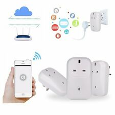 Cell Phone Remote Control WiFi Wireless Smart Power Socket Switch Plug Outlet UK