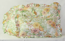CUSHION ROUND SQUARE RECTANGLE Harlequin Vintage Floral Pink Gold Green Cream