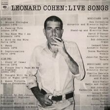 Live Songs - Cohen,Leonard New & Sealed LP Free Shipping