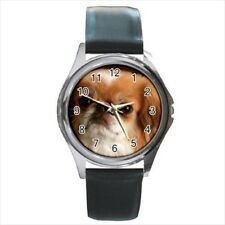 Cute Pekingese Stainless Steel Watches - Puppy Dog
