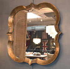Vintage Style Gold Large Wall  Mirror,54'' x 54''H.